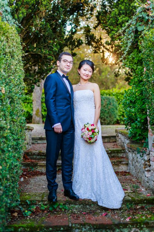 mariage au château du croisillat 32
